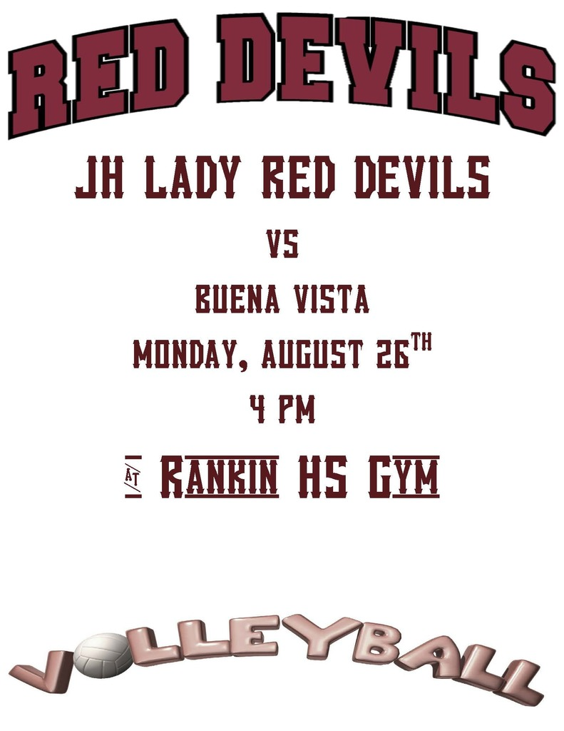 JH VOLLEYBALL POSTER
