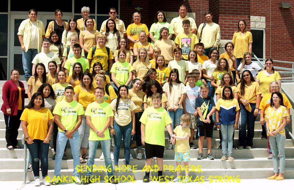 RHS Student wear yellow