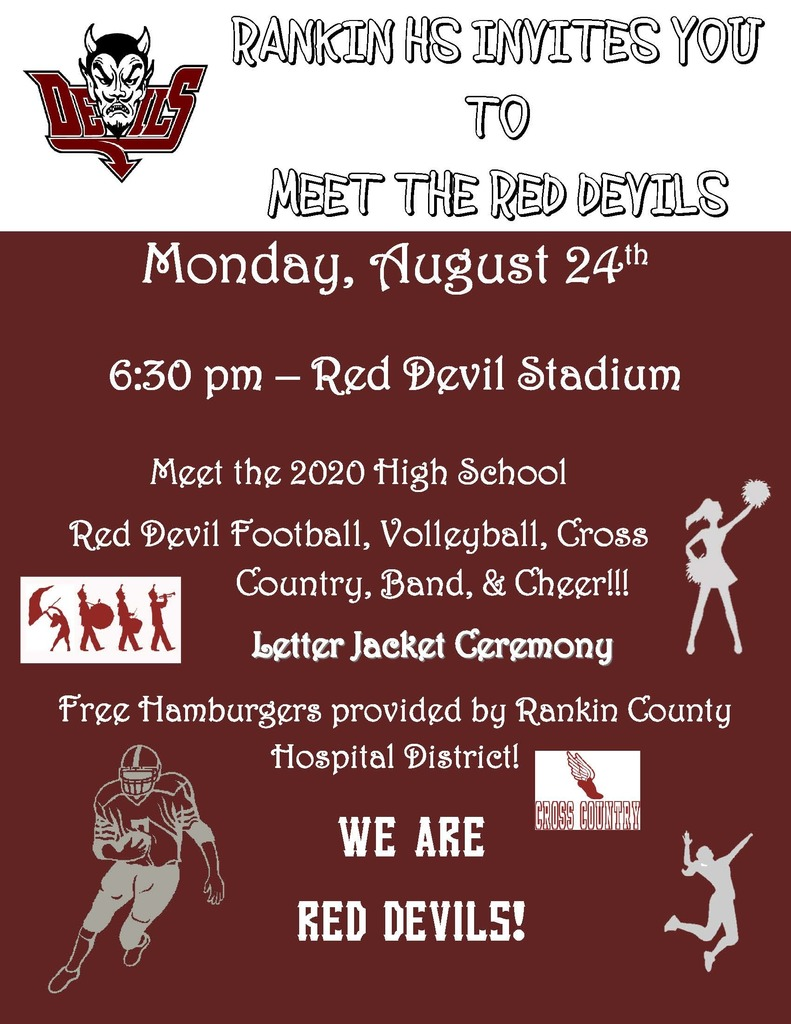 Meet the Red Devils Flyer